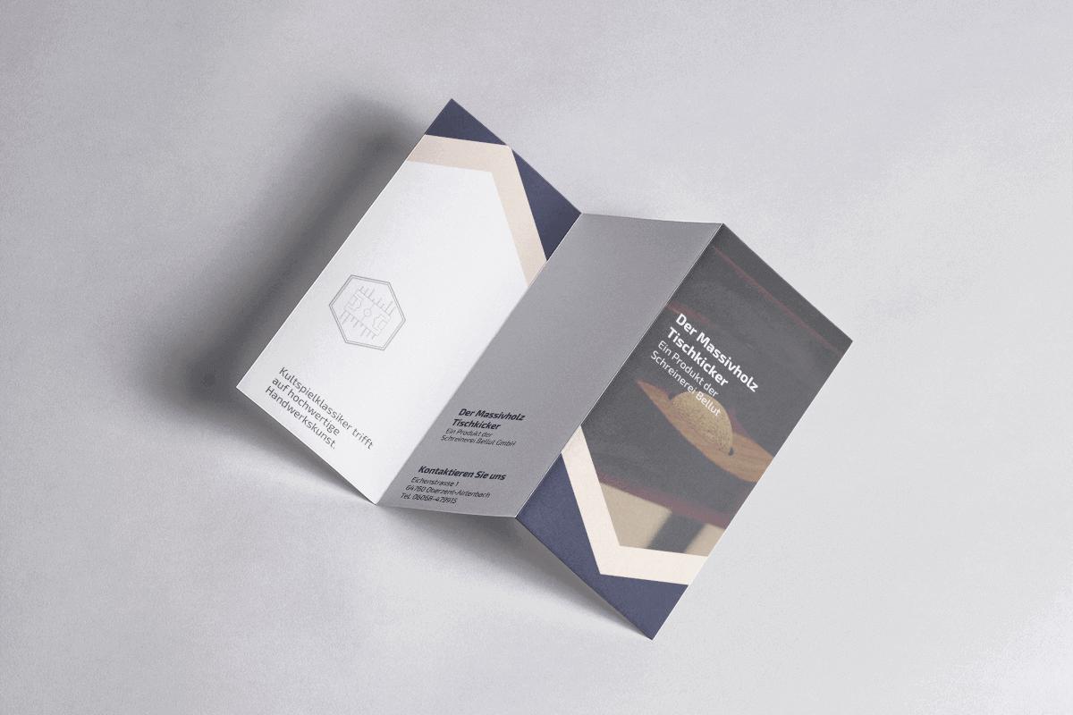 STARTS Flyer Grafikdesign