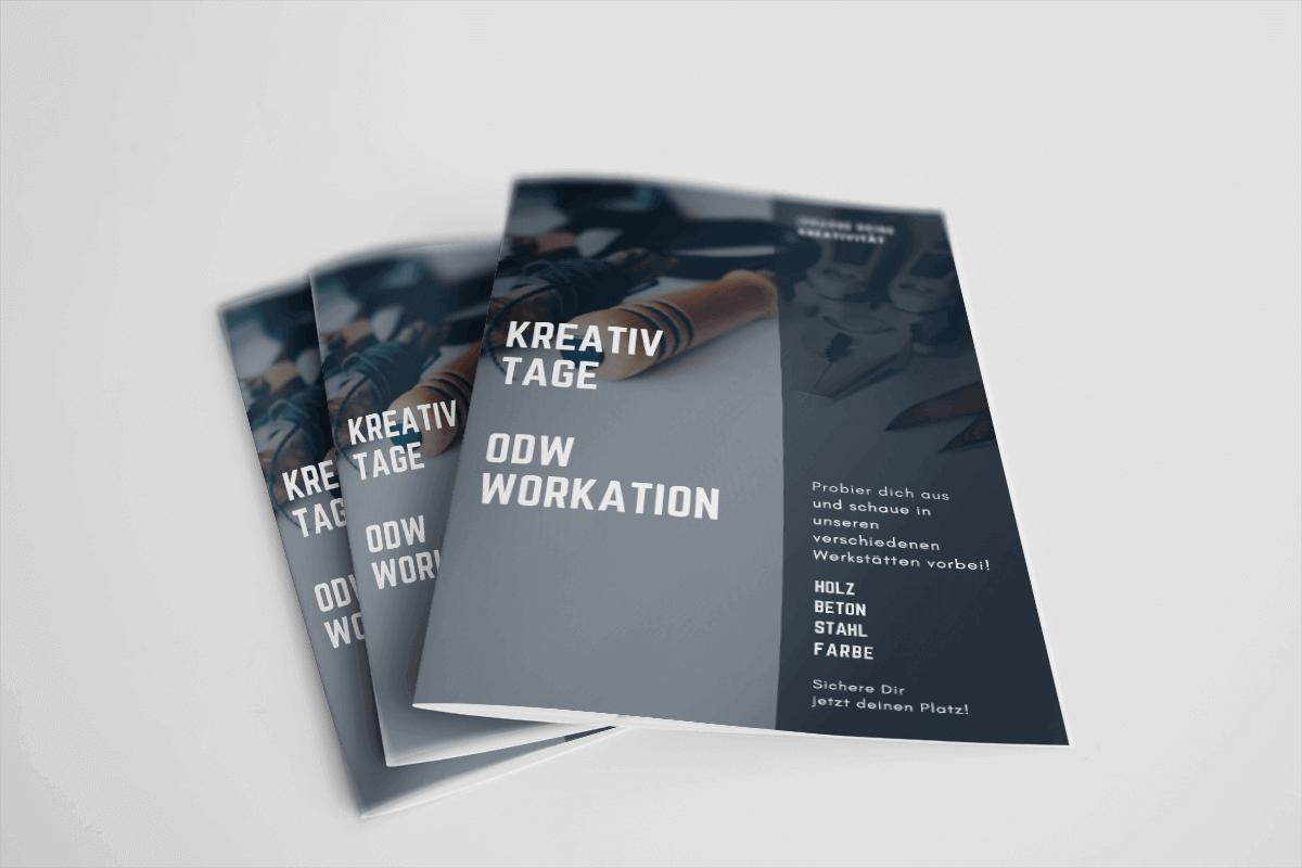 STARTS Grafikdesign Flyer