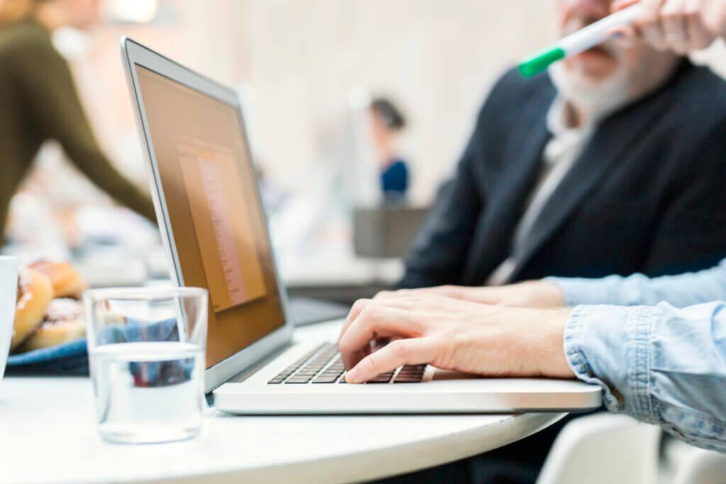 bloggen laptop