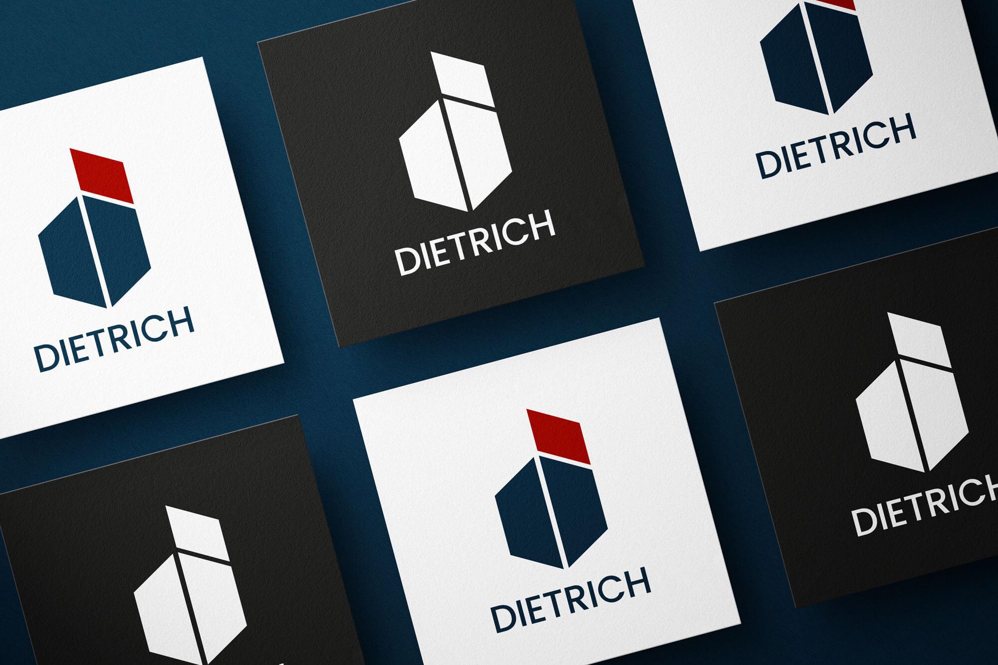 brandschutz dietrich logo mockup