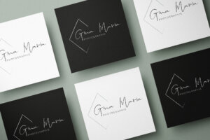 Gina Maria Logo Mockup