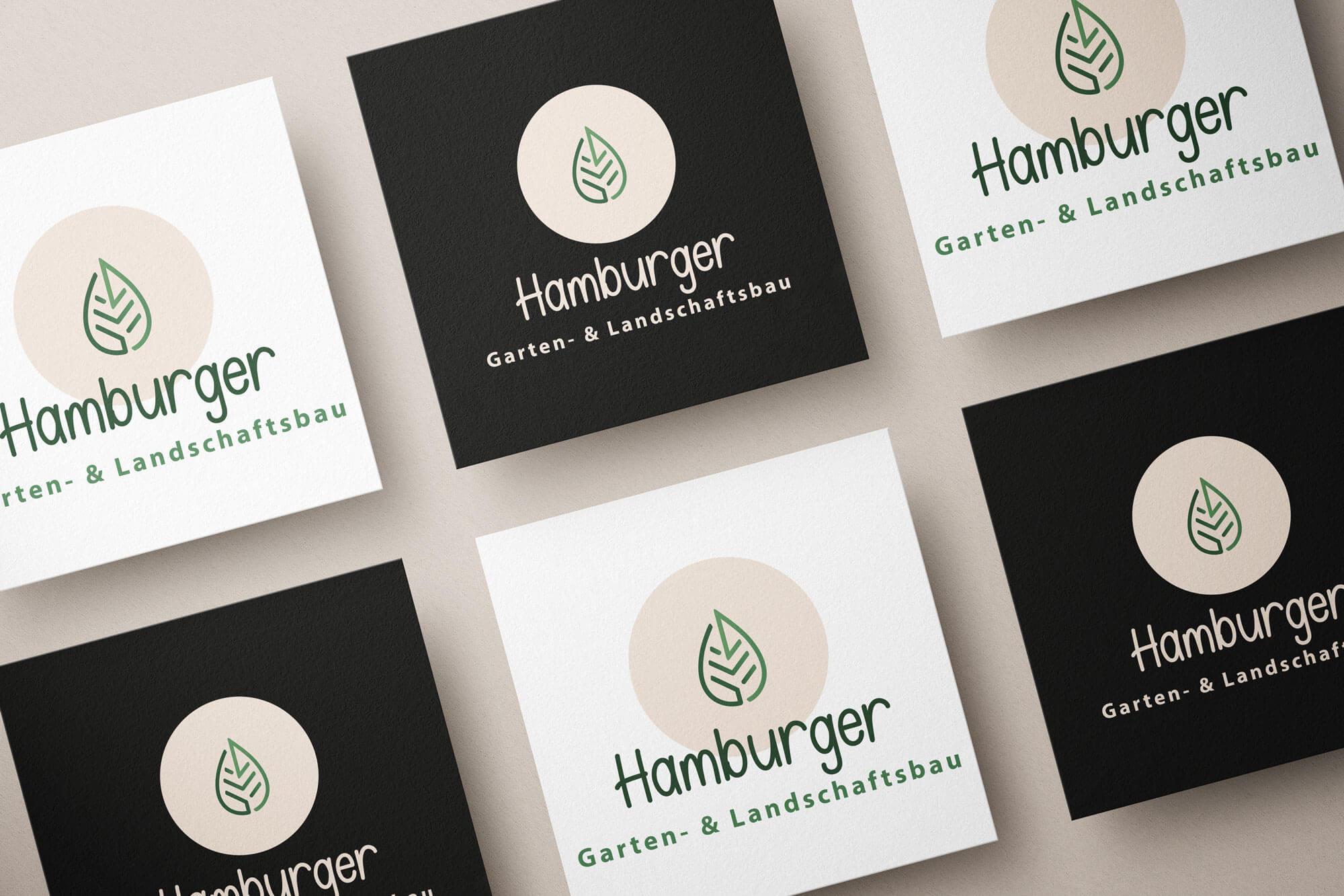 Hamburger Logo Mockup