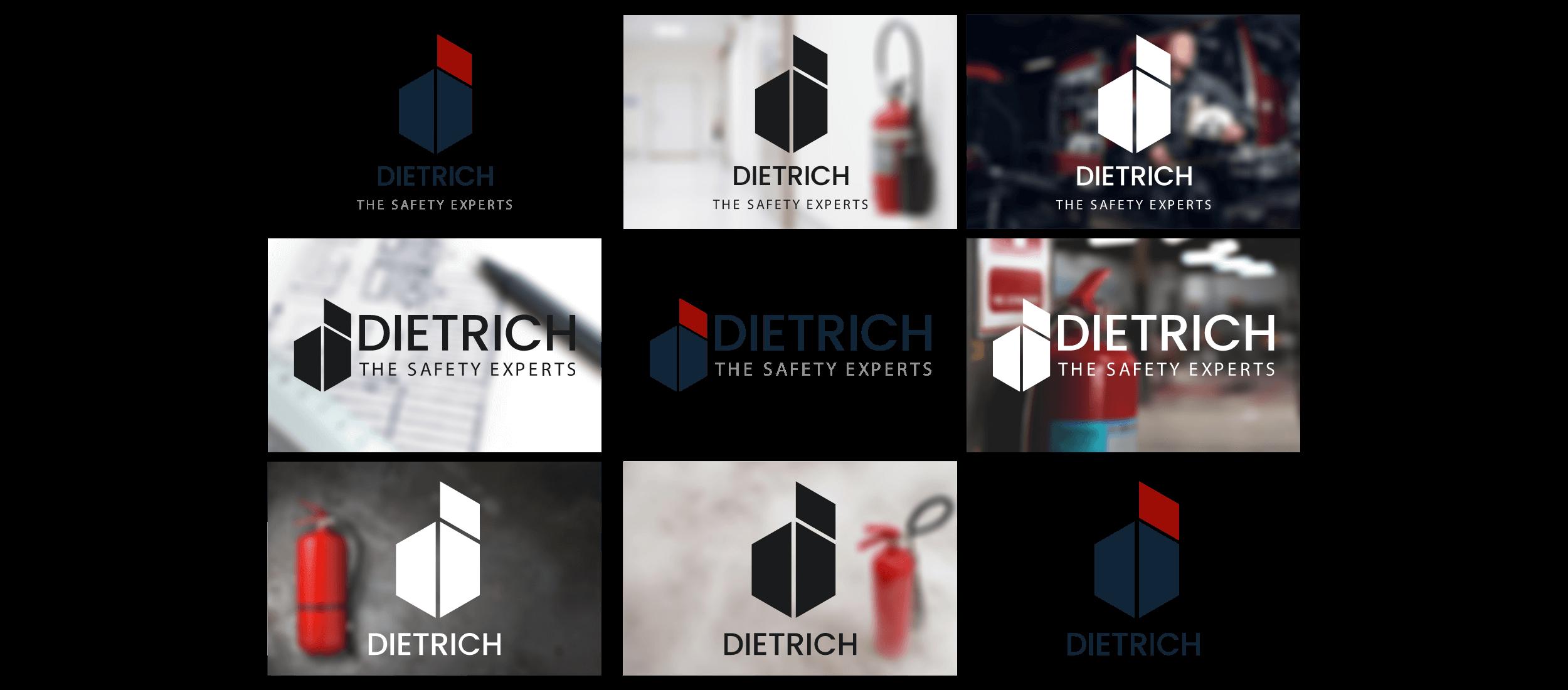 Logo Variationen Dietrich