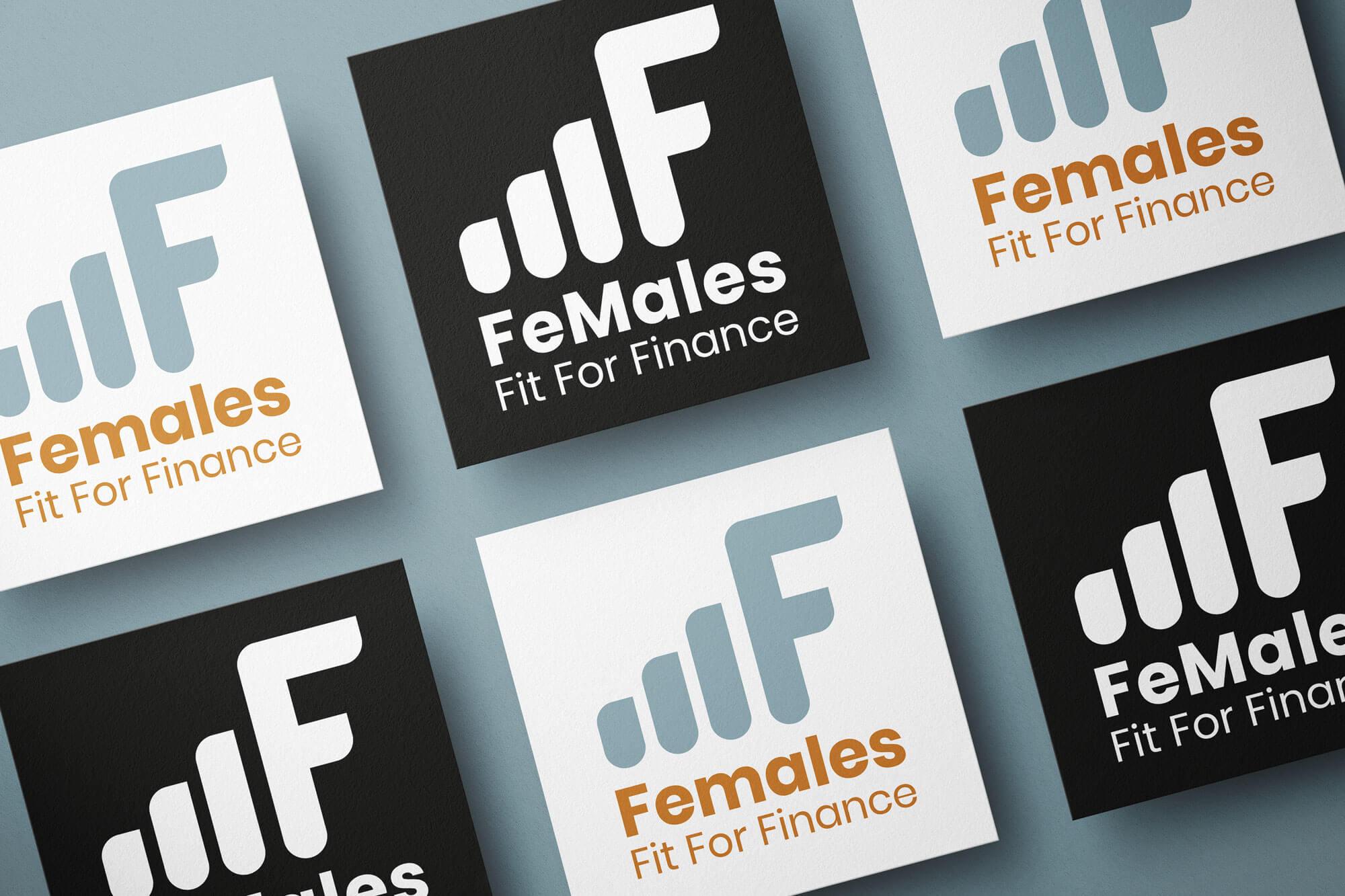 Females Fit for Finance Mockup