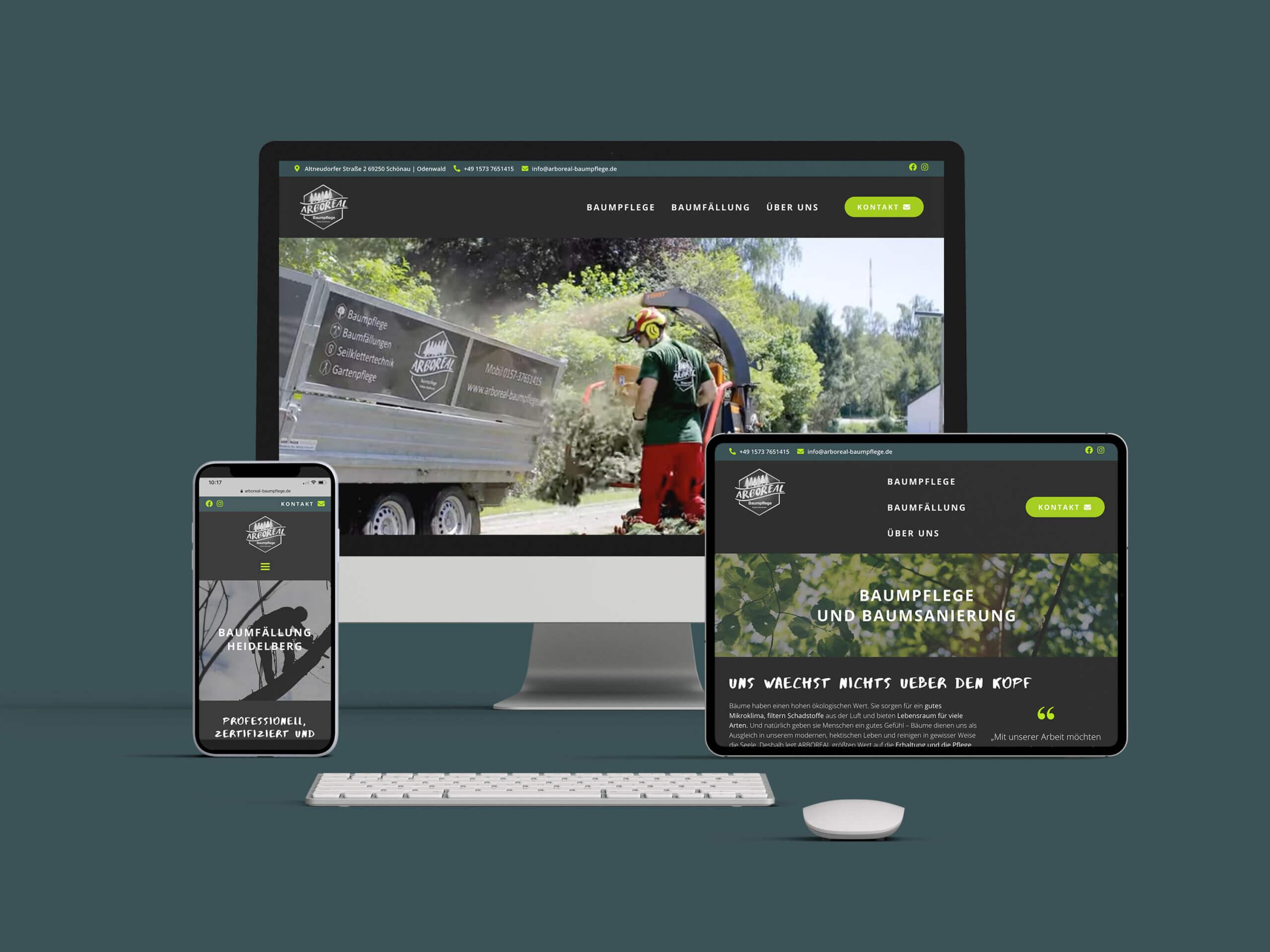 arboreal webauftritt
